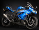 Kawasaki ninja zx 6r blue normal