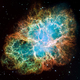 Hubble space telescope crab nebula 2