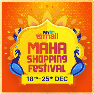 Paytm Maha Shopping Festival Sale