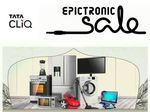 Last Day of Tatacliq EpicTronic Sale : Upto 70% Off + 10% Discount on HDFC Cards (17th - 21st April)