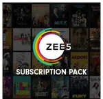 Zee5 - Tamil/Telgu/Kannada/All access Pack free of cost effectively