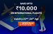 Flat 10% off on international flights and upto 1500 off on domestic flights at Yatra.com for ICICI Bank Credit Card holders