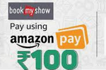 BookMyShow - 20% cashback upto 100 with Amazon pay for prime users (1-31May)
