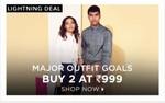 Jabong : Buy 2 at 999/-