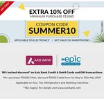 Get Extra 10% Discount On AC TV Washing Machine & Refrigerator ( Code : SUMMER10) +Extra 10% Bank Discount