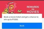 BookMyShow : Book A Movie Ticket And Get A Chance To Win Upto Rs 1000
