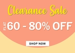 NNNOW : Clearance sale 60-80% off on many brands