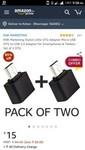 OTG to USB 2.0 Adapter for Smartphones & Tablets - Set of 2 OTG
