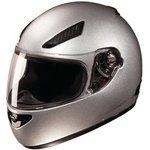 Studds Rhyno Helmet (Silver Grey, L)
