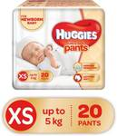 Huggies Ultra Soft XS Size Diaper Pants - XS  (20 Pieces)