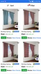 Bombay dyeing curtains upto 65% off starting at 341