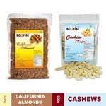 Scorist Dry Fruit Combo (Cashew 500g + Almonds 500g) @ Rs 720 | FREE Shipping | Flat 20% OFF