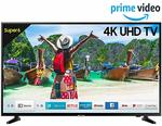 Samsung 138 cm (55 Inches) 4K UHD LED Smart TV UA55NU6100 (Black) (2019 model). Save extrawith No Cost EMI +3 Offers and with xchange - Up to4,230.00 off
