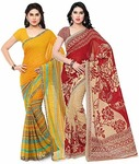 Saree (Pack of 2) for Rs.339