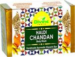 Divine India Premium Haldi Chandan Handmade Soap With Essential Oils, 200 g99