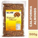 Scorist California Almonds 500g (Pack of 2) @ Rs 639| FREE Shipping | Flat 20% OFF