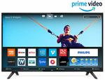Philips 126 cm (50 inches) 6100 Series 4K LED Smart TV 50PUT6103S/94 (Black). Save more with exchange and card offers. With Exchange Up to 4,510.00 off