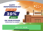 FITPASS | Independence Sale, Unlimited Gym Acess at 599