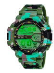 Fadiso Fashion GR Digital Black Dial Sports Men's Watch
