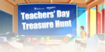 UC Teachers day treasure hunt : Collect Amazon vouchers for Recharge, Bill Payments, etc