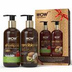 40% Off - WOW Apple Cider Vinegar Shampoo - WOWsome Twosome No Parabens & Sulphates Hair Care Package – 600mL