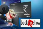Get 25% off upto Rs 150 on movies with RuPay Credit Cards    20% off upto Rs 75 with RuPay Platinum Debit Cards