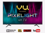 (Price Drop) VU 138 cm (55 Inches) Smart 4K Ultra HD LED TV Pixelight 55BPX (Titanium Grey, 2019 Range)