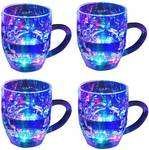 Mixoma LED Flashing 7 Different Color Changing For Parties & Gifting Glass - Glass Mugs