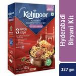 [Pantry]Kohinoor Authentic Basmati Biryani Kit, Hyderabadi, 327g