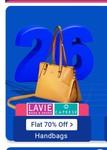 Lavie & Caprese Bags @ 70% off - upcoming