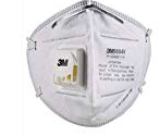 [Back Again] 3M 9004V Particulate Respirator Mask, White, Pack of 10@ ₹35