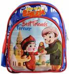 Chhota Bheem Polyester 10 cms Blue and Red Children's Luggage