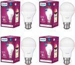 Philips Base B22 9-Watt LED Bulb (Pack of 4)