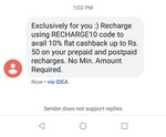 Niki 10% Cashback Code.