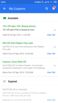 Flipkart BBD ( 300 OFF ON 750+  FASHION) COUPON CREDITED