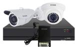 D-Link Full HD Basic CCTV Kit, 1MP Dome Camera+ 1MP Bullet Camera + 4CH HD DVR + 4CH Power Supply