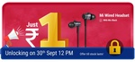 [Upcoming] Mi Wired Headset with Mic @ 1₹    30th Sep 12PM