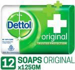 ( prime exclusive )Dettol Original Soap - 125 g (Pack of 12)