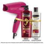 TRESemme Keratin Smooth Shampoo 580ml & Conditioner 180ml + PHILIPS 1000W Hair Dryer