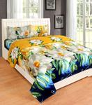 Double Bedsheets With 2 Pillow Covers Starts @229