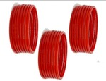 (discount) Red Glass Bangles Set for Women's 24pcs