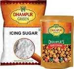Dhampur Green Gur Chana And Icing Sugar ( Inc 60 S/C) | More products at min 50%