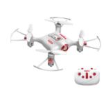 Hobbitos X20 Mini Pocket Drone Altitude Hold Function RC Nano Quadcopter  (White)