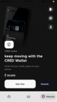 CRED wallet at 30k coins