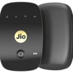 JioFi 4G Hotspot M2S 150 Mbps Jio 4G Portable Wi-Fi Data Device (Black)