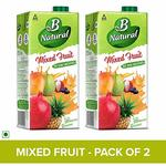 [Pantry]B Natural Mixed Fruit Juice, 1l (Pack of 2)