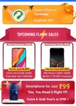 Smartphone at just rupees 99 at 2pm today