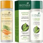 Biotique Bio Carrot Face Sun Lotion Spf 40 Uva/Uvb Sunscreen For All Skin Types In The Sun,190ml