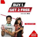 Brandfactory : Buy 1 Get 2 Free | Code : B1G2