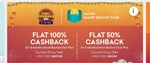 1 Year SBC Grofers Membership For Free - 100% Cashback